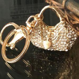 Handbag Keychain gold Charm handbag jewelry New